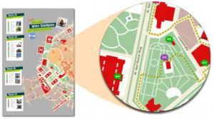 Wien Stadtplan Sightseeing Routen Innenstadt