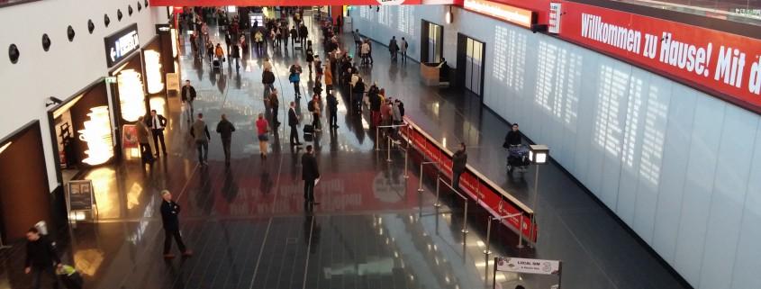Flughafen Wien Ankunftshalle