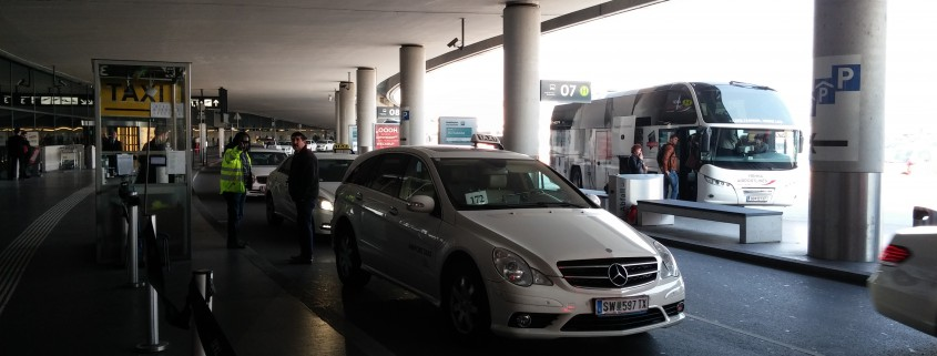 Taxi Stand Flughafen Wien